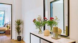 Der Trend geht in Berlin zur möblierten Wohnung - Black Label Immobilien richtet mit dem neuen Black Label Design Paket komplett ihre Wohnung ein.