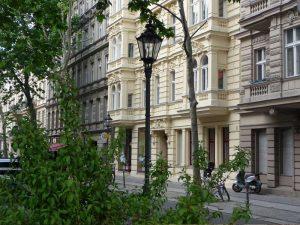 Strassenzeile in Berlin Charlottenburg