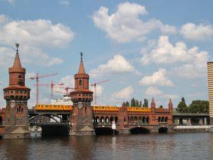 Berlin Friedrichshain - Oberbaumbrücke