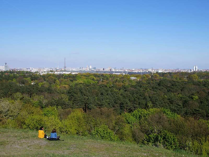 Berlin Grunewald Panorama