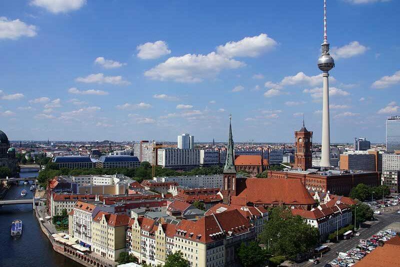 Berlin Mitte Nikolaiviertel
