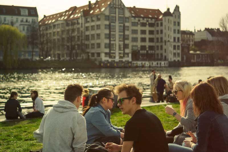 Berlin Mitte Spreeufer