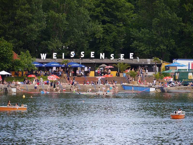 Baden in Weissensee