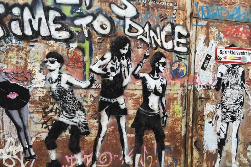Graffity in Berlin-Prenzlauer Berg