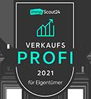 Siegel von ImmScout24-Verkaufsprofi 2021