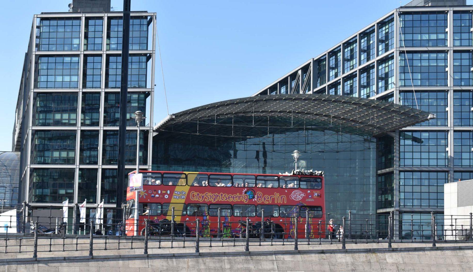 Berlin hat sich rasant zur Weltstadtmetropole entwickelt, Berlin Hauptbahnhof Foto: Dominique Bridstrup