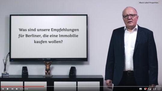 Videocast Berliner Immobilienmarkt