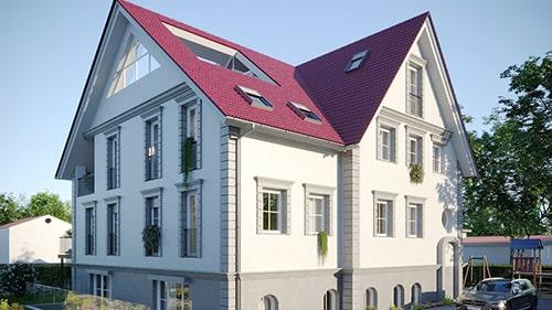 Eigentumswohnungen in der Villa Teltow