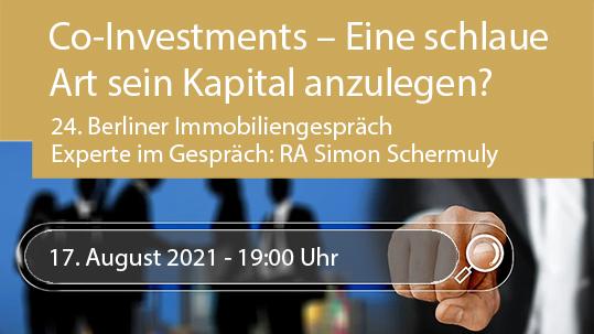 Co-Investments – Eine schlaue Art sein Kapital anzulegen?