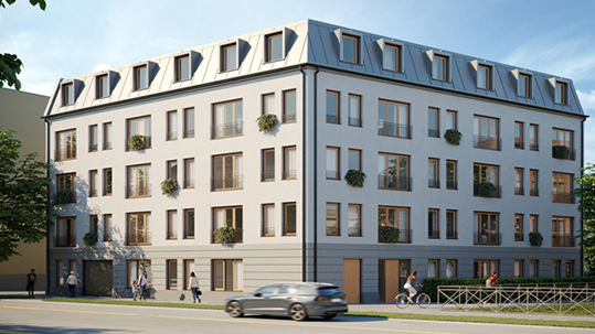 27 Eigentumswohnungen in Potsdam - Wohnen zwischen Havel, Potsdams Altstadt und Schloss Sanssouci